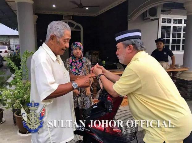 'Mak! Mak! Sultan Johor Datang!'