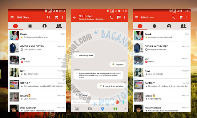 download BBM Mod Thema Path Versi 2.12.0.9 Apk
