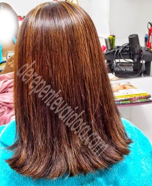 cabelo com progressiva, Escova Progressiva Salvatore Blue Gold