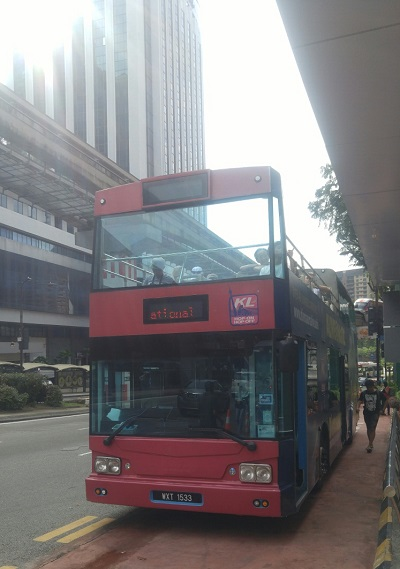 Bus hop-on hop-off di Kuala Lumpur, Malaysia