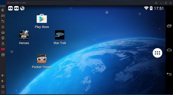 برنامج koplayer لتشغيل تطبيقات الاندرويد على الكمبيوتر