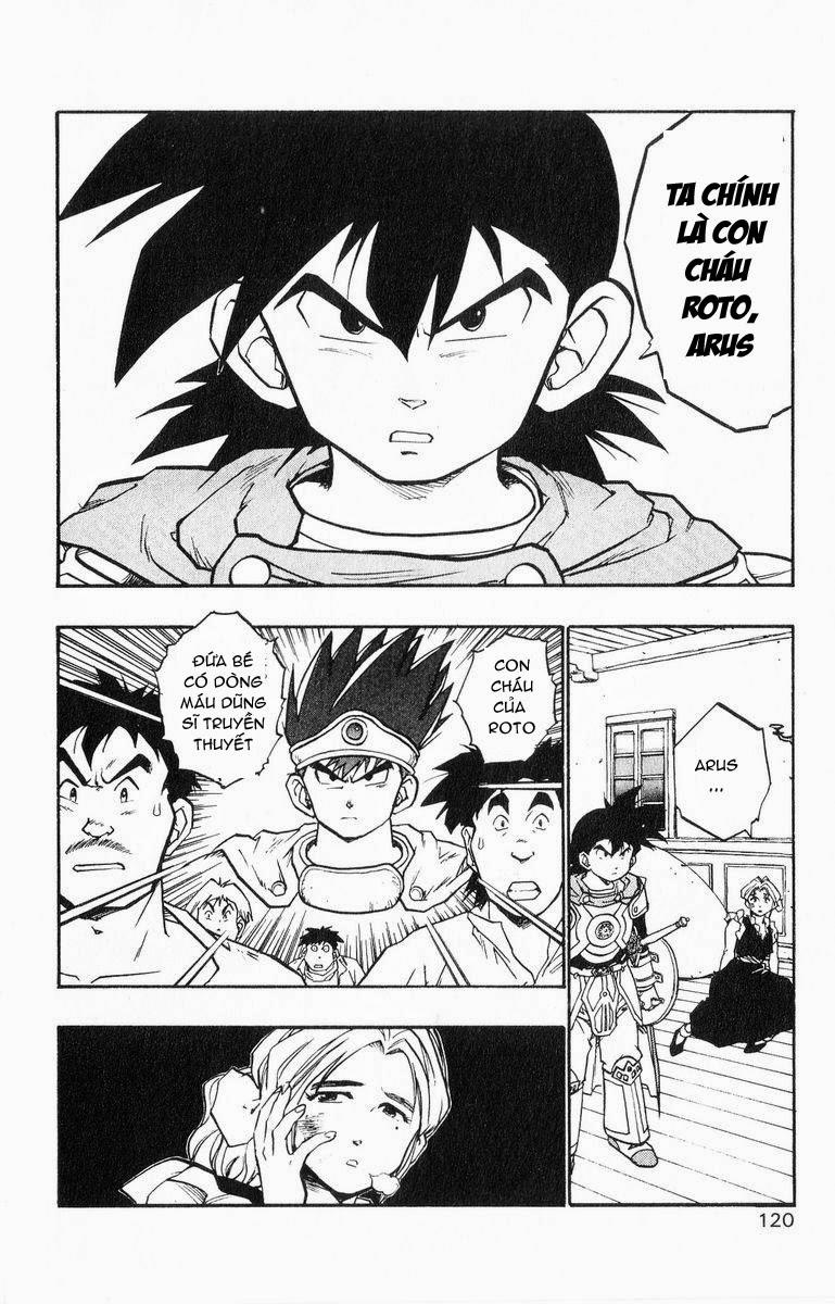Dragon Quest: Emblem of Roto chapter 25 trang 13