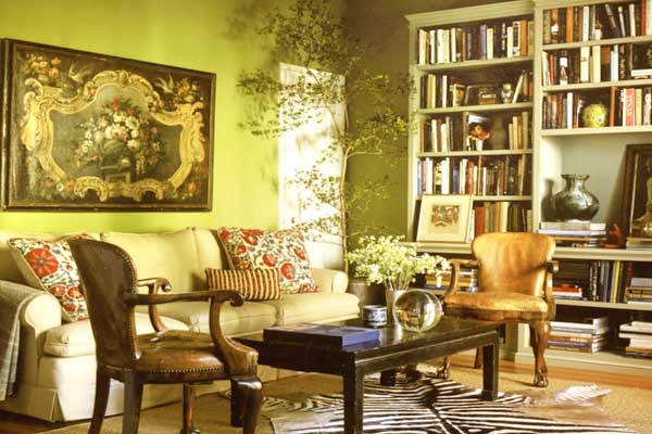 Bohemian Sitting Room Interior Design Ideas