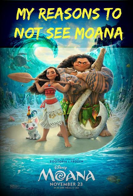 Reasons Not to See Moana