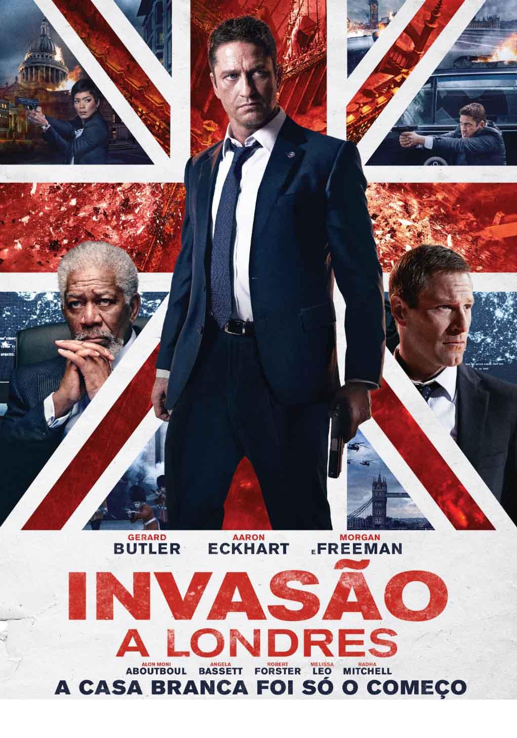 Invasão a Londres Torrent – Blu-ray Rip 720p e 1080p Dublado (2016)