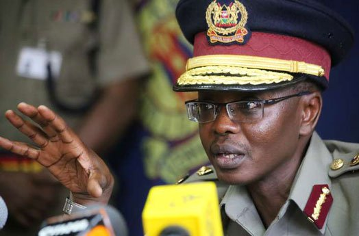 Police IG Boinnet TAPS OUT As His Term Ends Preparing For PENSION