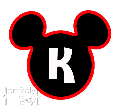 photo about Mickey Mouse Head Printable Cutouts known as Totally Emily: Mickey Mouse Celebration (with printables)