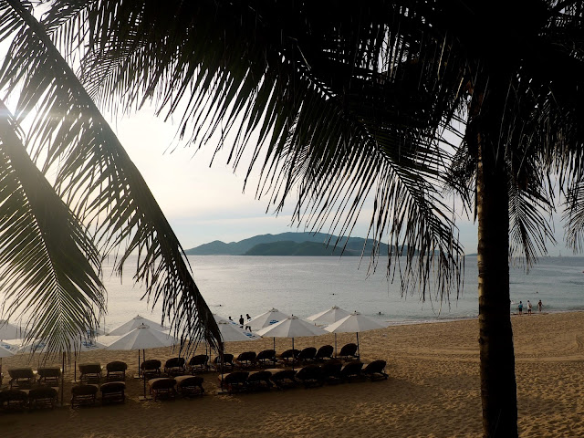 Nha Trang beach front, Vietnam