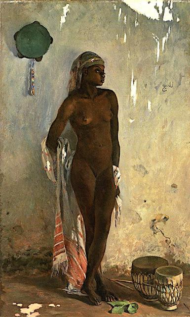 Frank Buchser: Schiava nuda