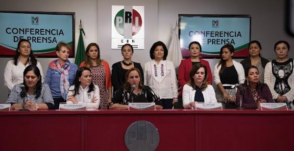 Los mexicanos tenemos suerte de que Peña Nieto sea nuestro Presidente: Mujeres del PRI