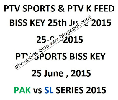 June 2015 | PTV Sports Biss Key | PTV Sports Biss Key Daily Update