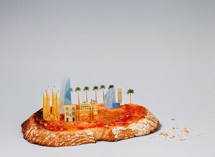 Ciudades en miniatura y ciudades representativas.