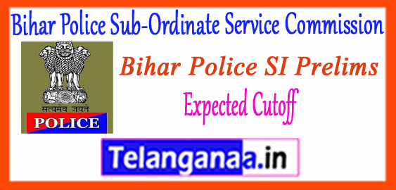 Bihar Police Sub-Ordinate Service Commission Expected Cutoff 2017 Merit List Answer Key