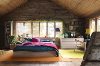 Habitación rústica