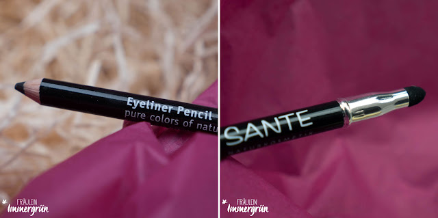 Sante Eyeliner Pencil No. 01 black