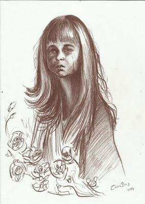 Sketchbook - Desenho de Cícera Dias