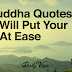 13 Buddha Quotes That Will Put Your Soul At Ease