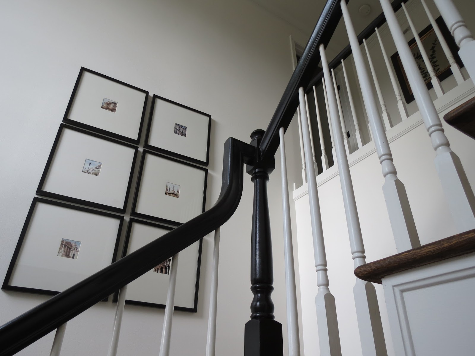 Hair Styles The Banisters Go Black | Painted Black Stair Railing | Carpet | High Gloss | Wall Both Side | Step | Colour Combination