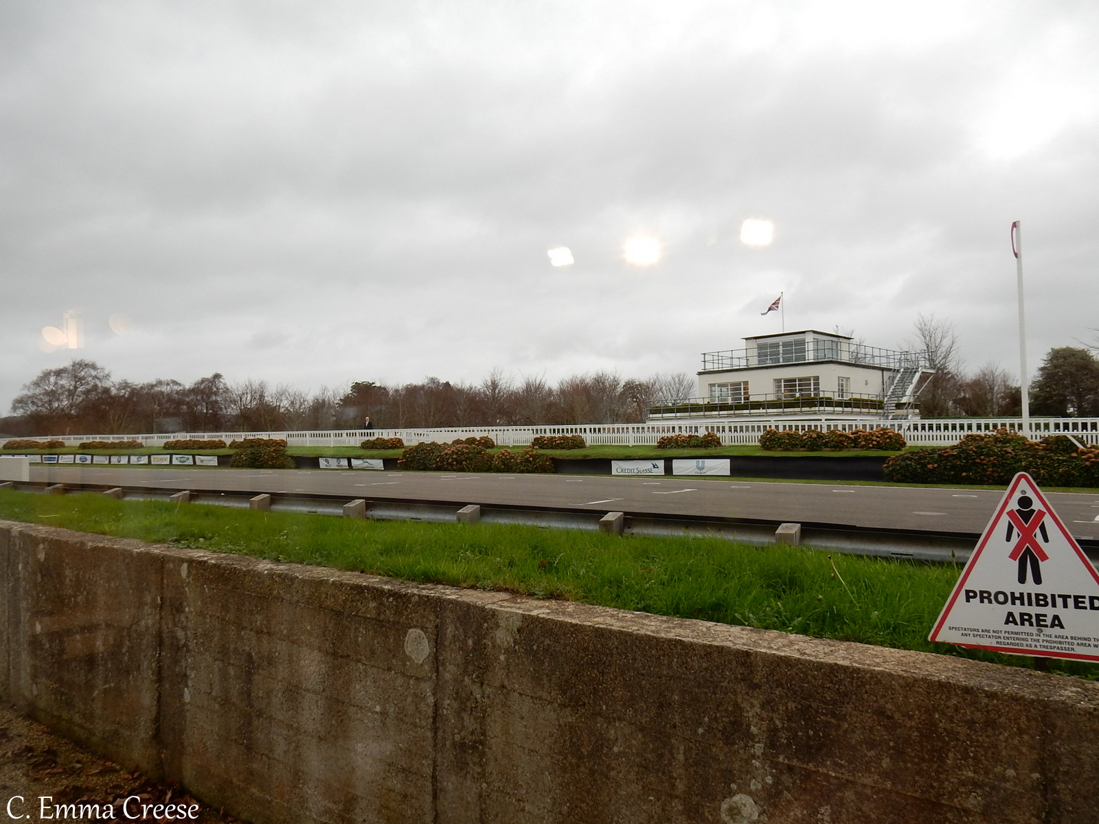 Goodwood Academy Extreme weather driving school