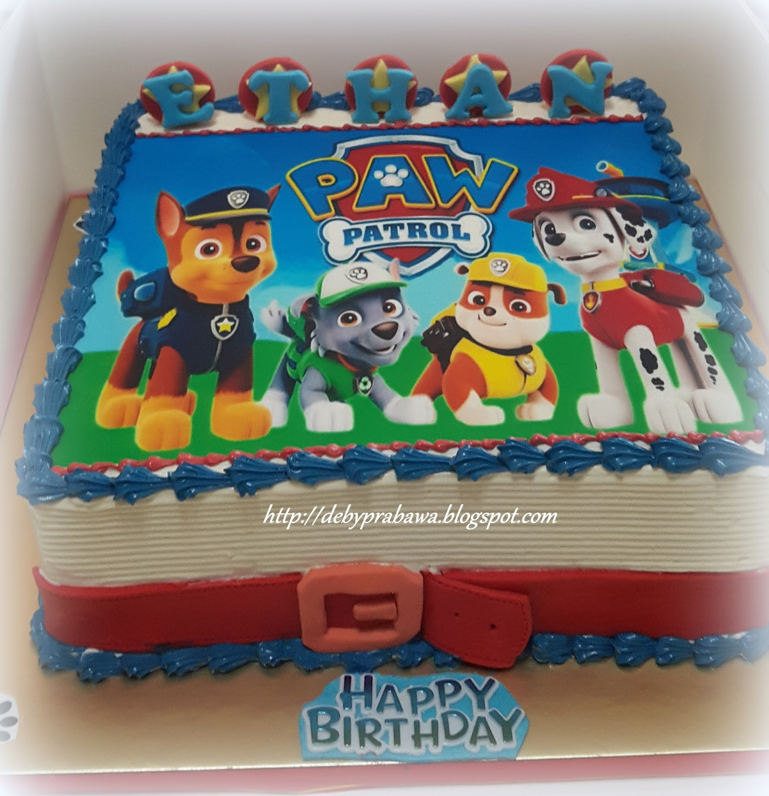 Butterfly Cake Paw Patrol Theme Birthday Party Cake Cupcakes