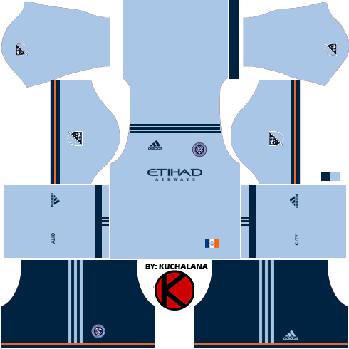 release date: 82e6c 90400 New York City FC Kits 2017 - Dream League Soccer - Kuchalana