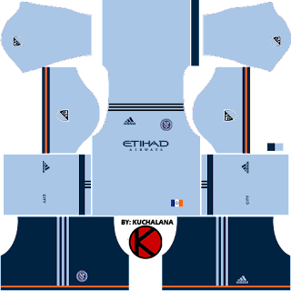 New York City FC Kits 2017 - Dream League Soccer