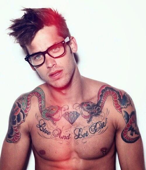Diamond Chest Tattoo: 15 Cool Diamond Tattoo Design Ideas For Men And Girls