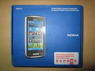 Nokia C6-01 Baru Sisa Stok Garansi Nokia Indonesia