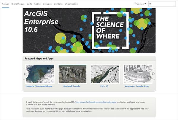 site Web de branchement Vancouver