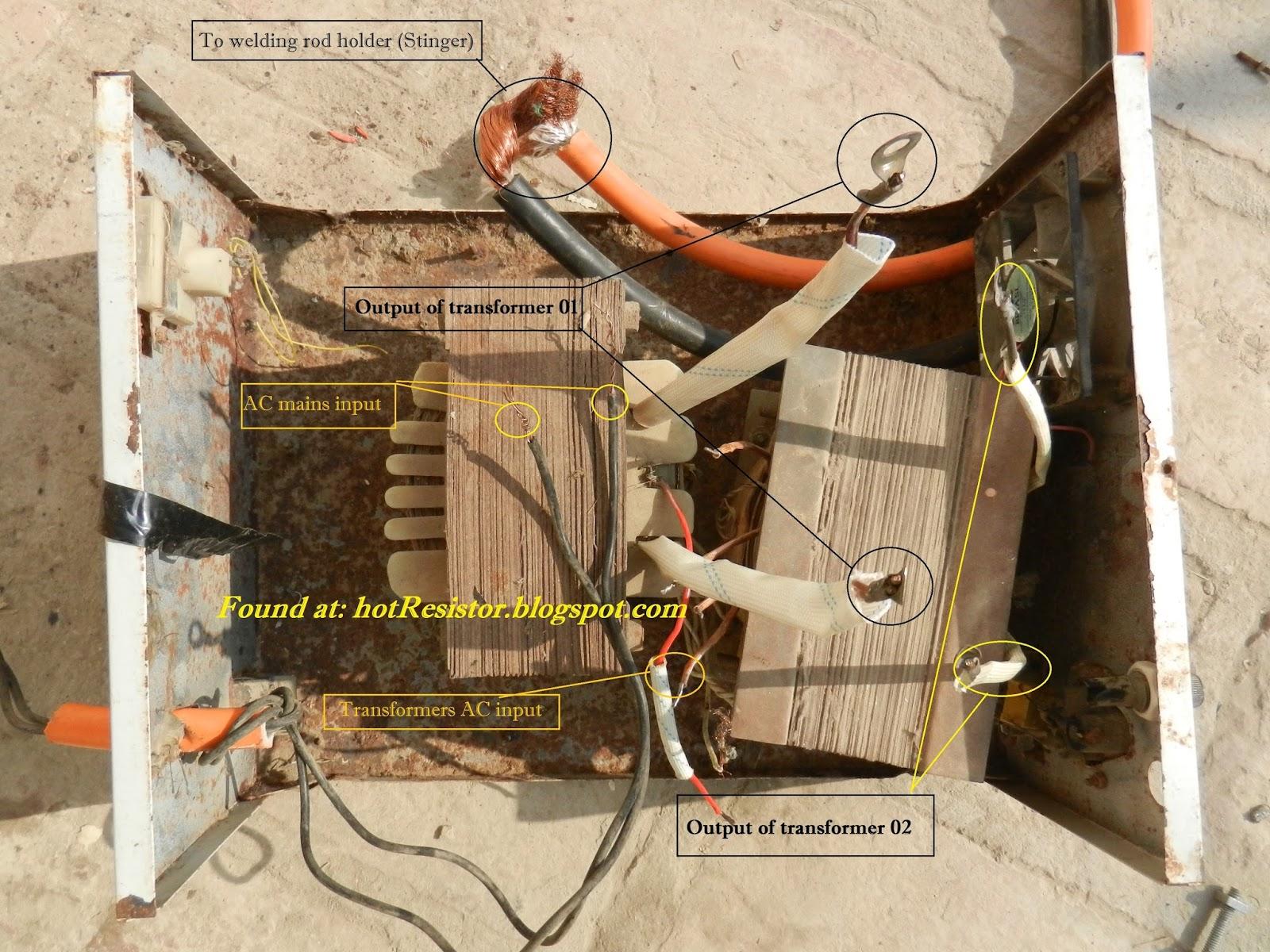 Old Arc Welder Transformer Wiring Diagrams on