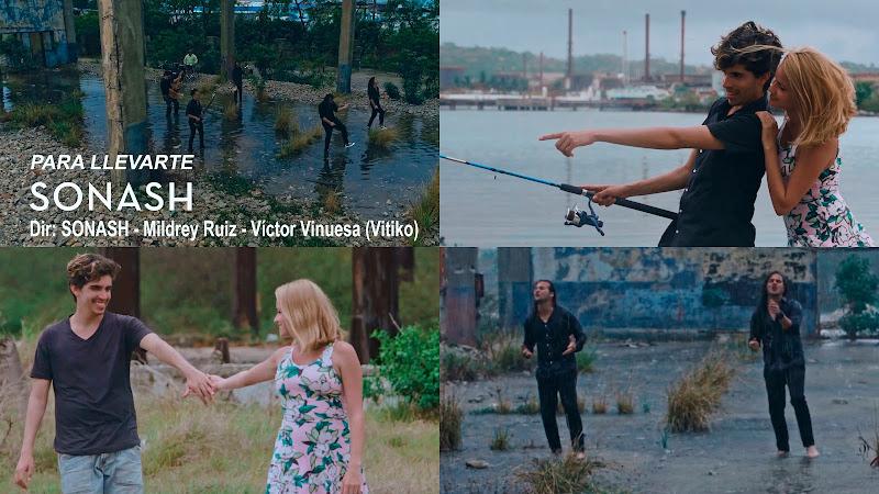 SONASH - ¨Para Llevarte¨ -  Videoclip - Dirección: SONASH - Mildrey Ruiz - Víctor Vinuesa (Vitiko). Portal del Vídeo Clip Cubano