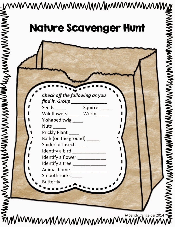 In this blog post, I've provided 6 different outdoor activities for Earth Day. (Scavenger Hunt)