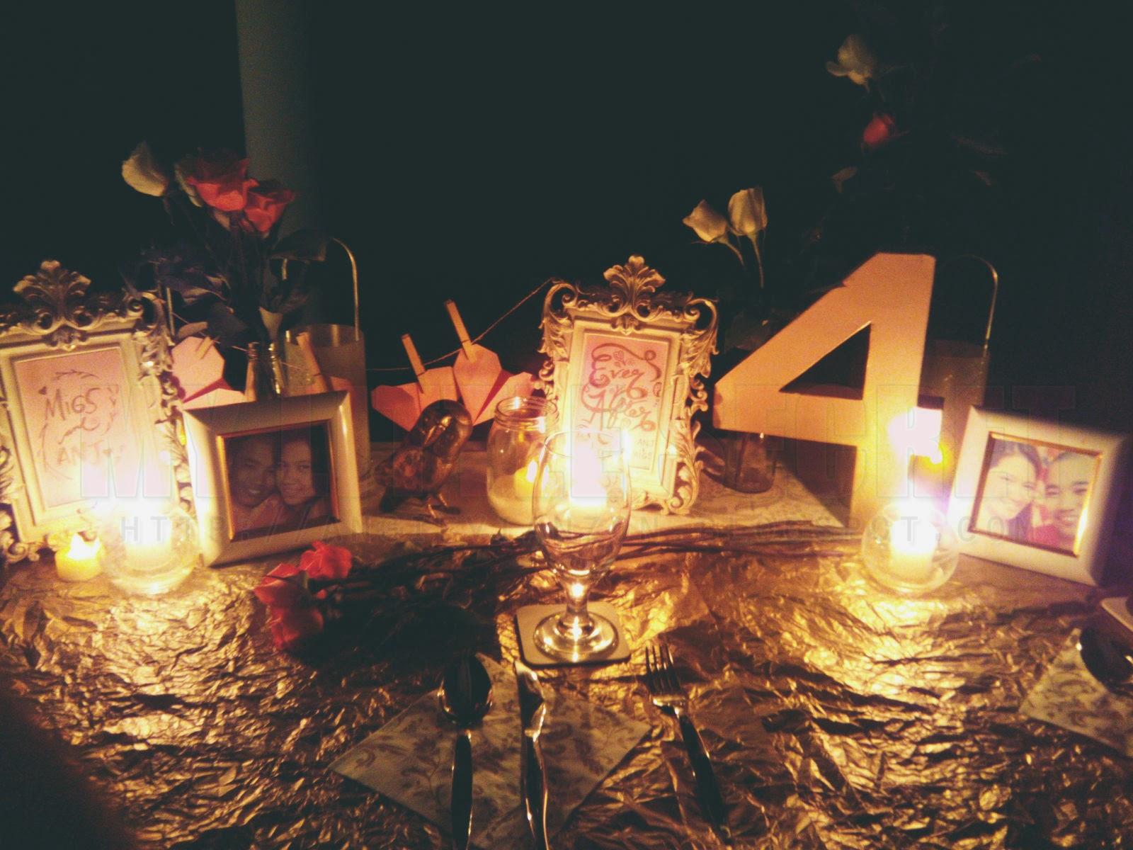 4th Wedding Anniversary At The Purple Owl, Tagaytay