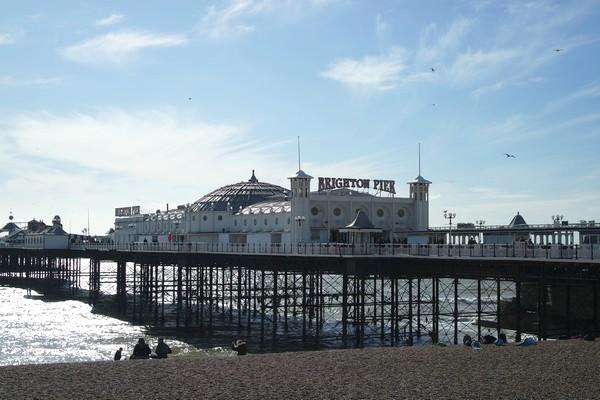 brighton pier seafront