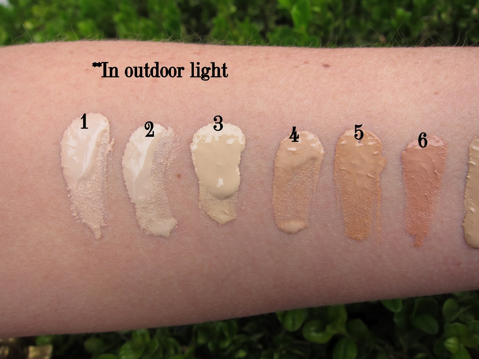 Beauty Professor By Terry Cover Expert Swatches Of All