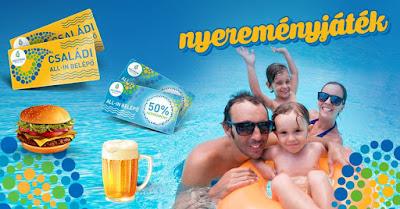 Annagorra Aquapark Nyereményjáték