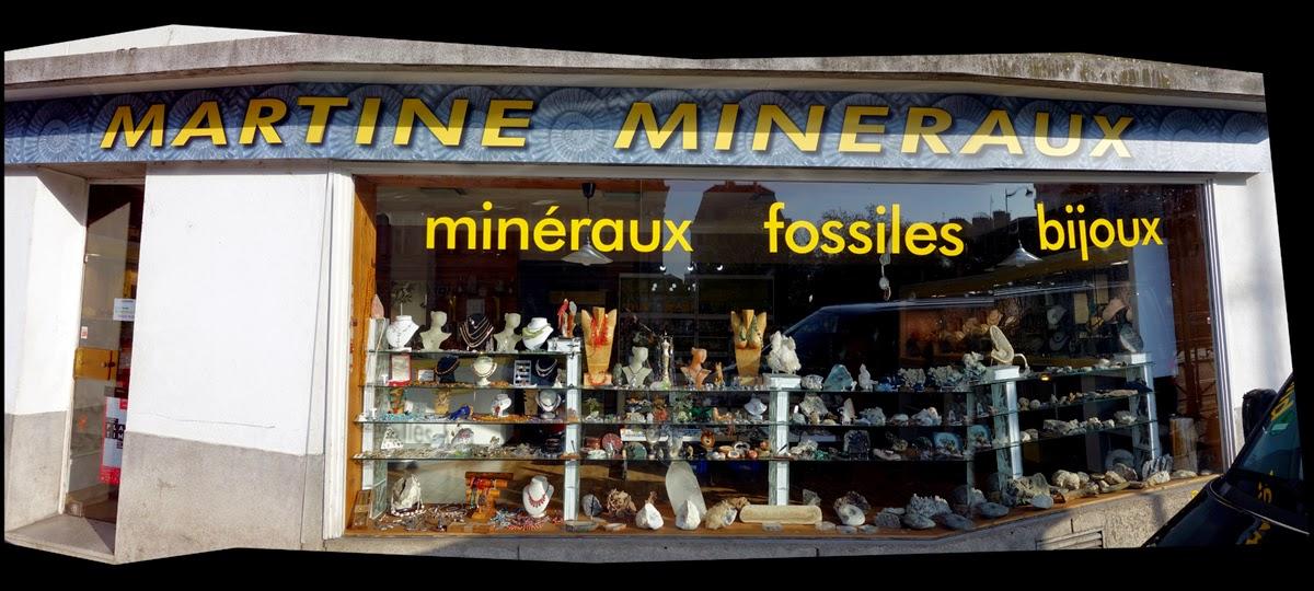Mineraux Martine - Quai Chateaubriand à Rennes