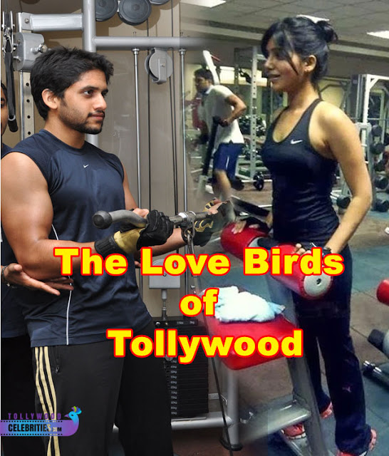 Naga Chaitanya $ Samantha Gym workout