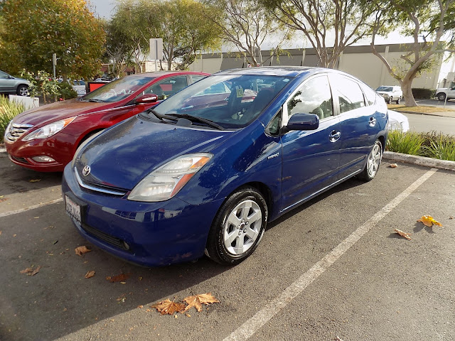 Prius after collision repairs at Almost Everything Auto Body.