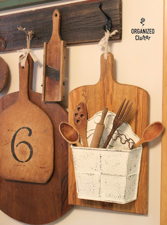 Cutting Board Wall Pocket Decor