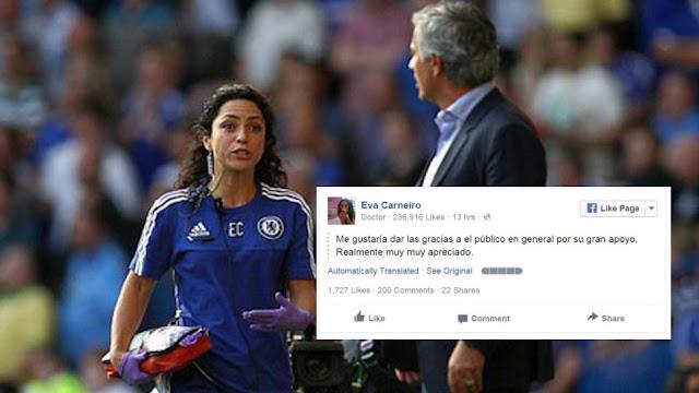 """Mourinho se """"carga"""" a Eva Carneiro... y a la imagen del Chelsea"""