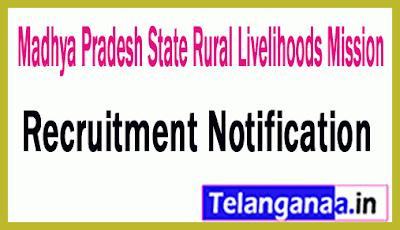 Madhya Pradesh State Rural Livelihoods Mission MPSRLM Recruitment Notification