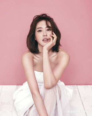 Wang Ji Hye - Marie Claire Magazine February 2016