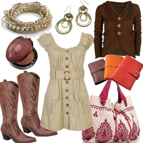 e047a92d49 -Os vestidos no estilo Country valorizam ainda mais as mulheres