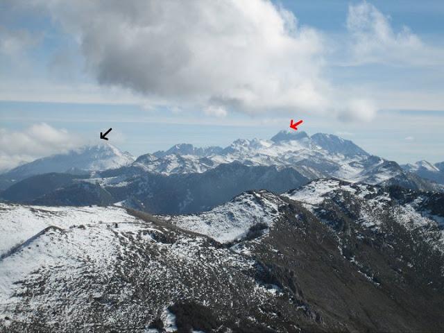 Rutas Montaña Asturias: Desde el Caldoveiru, vista de la zona de Ubiña