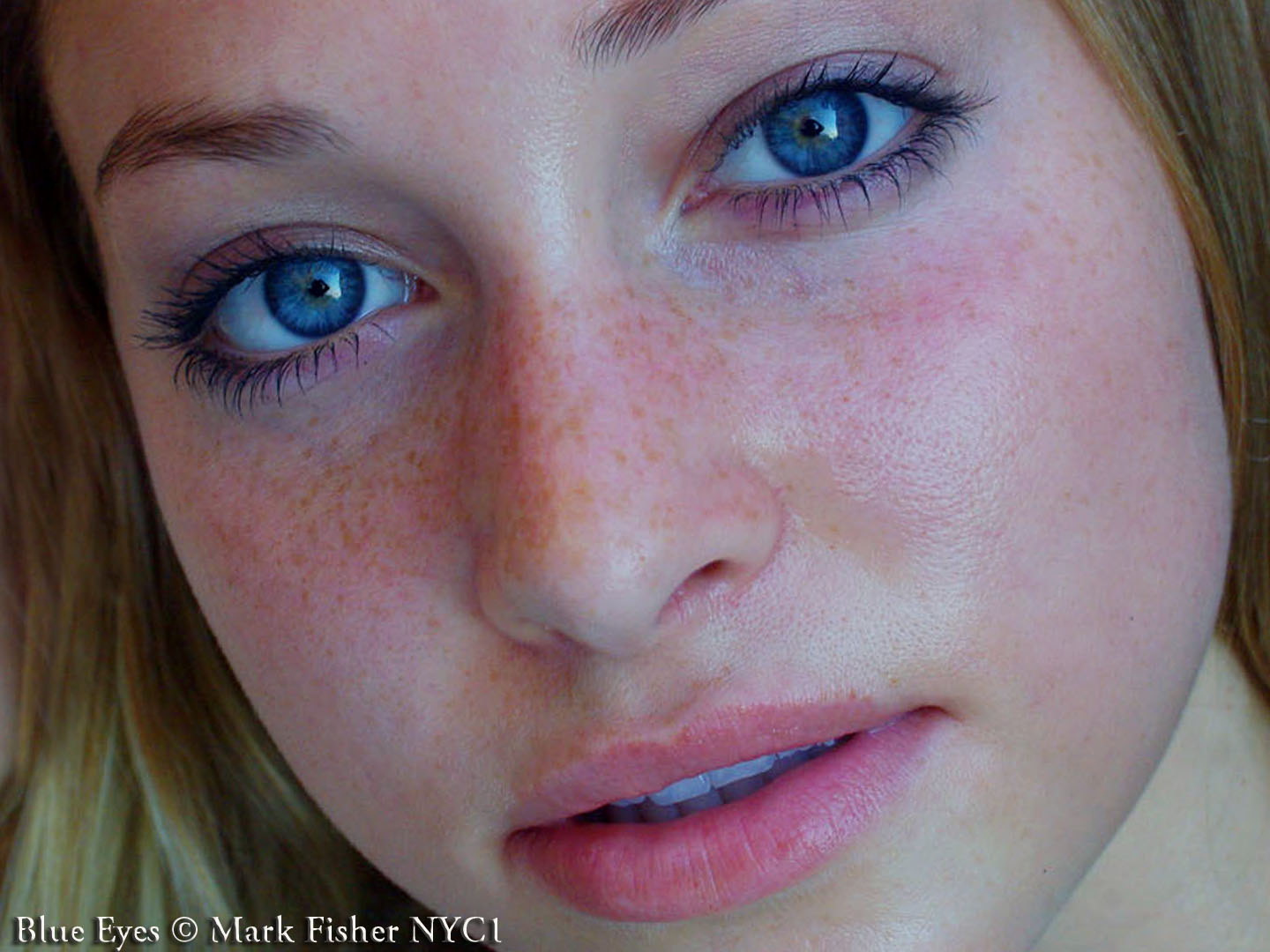 Mark Fisher S World Of Photography Blue Eyes Beauty Photographer Mark Fisher Raw Look