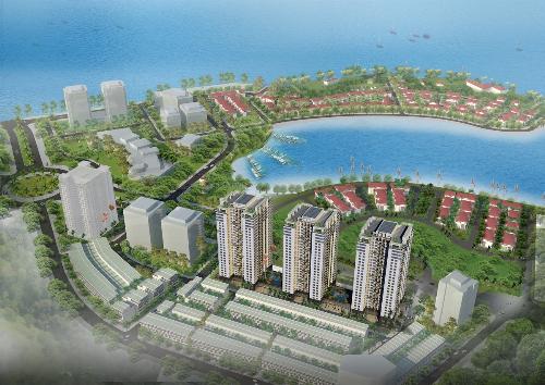 Phối cảnh dự án Hạ Long Bay Tower