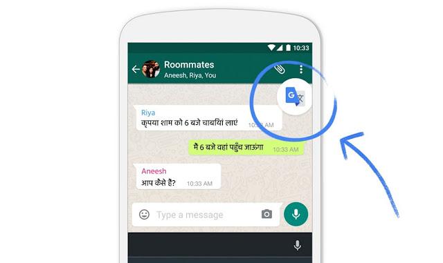 Cara Menterjemahkan Pesan WhatsApp