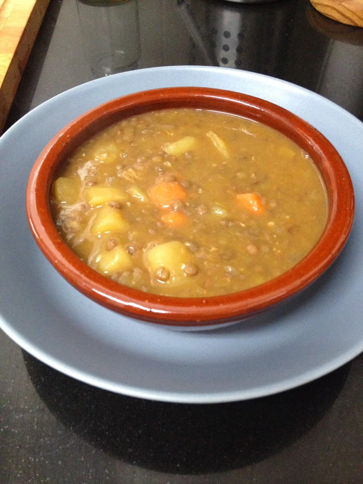 Cocina con rachel lentejas con chorizo - Racholas cocina ...