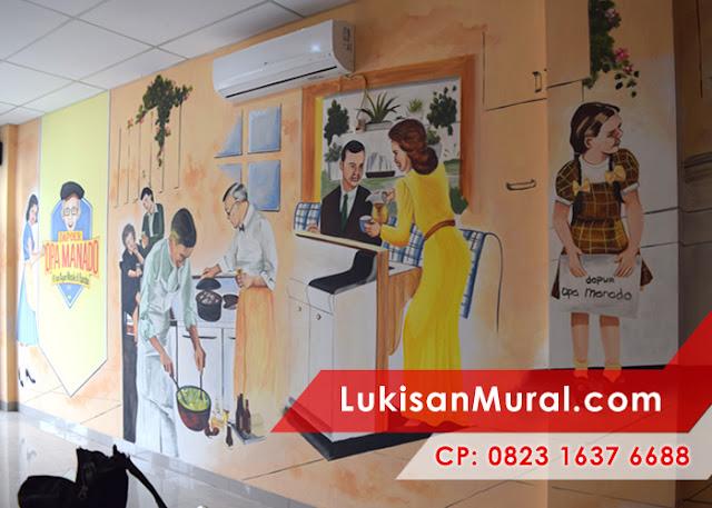 mural cafe terbaik